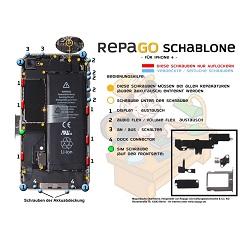 iphone 4 reparatur schablone anleitung
